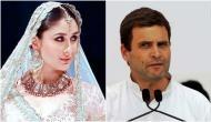 Before Shahid Kapoor and Saif Ali Khan, Kareena Kapoor wanted to date Rahul Gandhi!