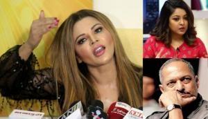 Rakhi Sawant slams Tanushree Dutta says 'Tanushree was high on drugs so she had to shoot the song'