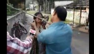 Caught on Camera: Trinamool leaders kick woman BJP supporter, throw her to the ground in presence of cops; videos go viral