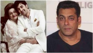 Salman Khan wrote an emotional post on Ranbir Kapoor's grandmother Krishna Raj Kapoor's death