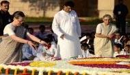Gandhi Jayanti 2018: Sonia Gandhi, Rahul Gandhi pay tribute to Mahatma Gandhi at Rajghat