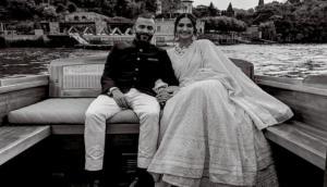 सोनम कपूर ने रोमांटिक अंदाज में दी आनंद को ब्वायफ्रेंड डे की बधाई, लिखा- इसलिए आनंद को मिला प्रमोशन...