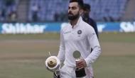 Virat Kohli ends year as top-ranked Test player