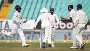 Ind vs WI: दूसरे दिन का खेल खत्म, विंडीज ने 6 विकेट खोकर 94 रन बनाए