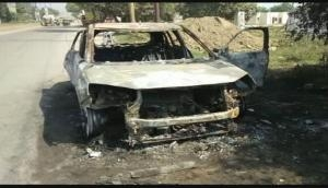 Ghaziabad: Naveen Das, Aam Aadmi Party worker charred to death after his SUV car caught fire; family alleges murder