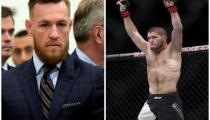 MMA Champion Conor McGregor loses to Russian fighter Khabib Nurmagomedov in Championship match