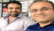 जहीर के 40th Birthday पर सहवाग का ट्वीट, बल्लेबाजों को बिना भनक लगे उड़ाते थे स्टंप