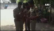 Hyderabad: Salute! As mother gave exam, policemen fed bottled milk and took care of her infant and win hearts on the internet; see pics
