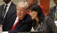 डोनाल्ड ट्रम्प को बड़ा झटका, अमेरिकी राजदूत निक्की हेली ने UN में अचानक दिया इस्तीफ़ा