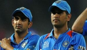 Gautam Gambhir cites one MS Dhoni's record that will never be shattered