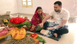 दुर्गापूजा में फिर सामने आई लालू परिवार की भिड़ंत, हो रही थी कलश स्थापना और..