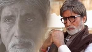 OMG! Amitabh Bachchan unable to hide his tears after listening to this beautiful message on his birthday; see video