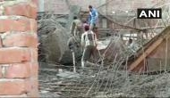 Under construction building collapses in UP's Shahjahanpur; five rescued, several feared trapped