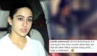 Saif Ali Khan daughter Sara Ali Khan trolled for hurting Muslim sentiments after sharing an old video from Vaishno Devi
