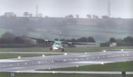 विमान की लैंडिंग के दौरान आ गया तेज तूफान, पायलट की सूझबूझ से ऐसे बची यात्रियों की जान