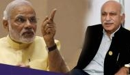 #MeToo: PM मोदी के कहने पर एमजे अकबर को हटाया गया !