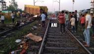 त्योहारों की भीड़-भाड़ के समय हुआ रेल हादसा, राजधानी एक्सप्रेस से टकराया ट्रक, ड्राइवर की मौत