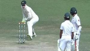 VIDEO: PAK बल्लेबाज मैदान पर लगे रहे बात करने में और कंगारुओं ने बिखेर दीं गिल्लियां