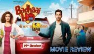 Badhaai Ho Movie Review: This Kaushik family of Ayushmann Khurrana starrer film really deserves the congratulations