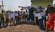 Happy Dussehra: 'Patni Pidit Purush Sanghatana' members, harassed by wives burn effigy of Ravan's sister Surpanakha
