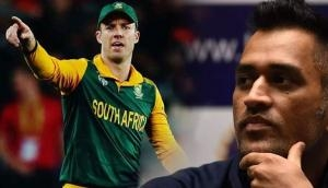 OMG! AB de Villiers gave a befitting reply to Dhoni haters on his retirement in an epic way; here's what the 360 degree player said