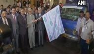 Hyderabad: CEC flags off mobile vehicles on awareness of EVMs, VVPATs