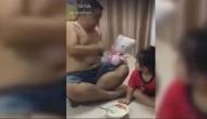बेटी को खाना खिलाने के लिए पिता ने अपनाई ये अनोखी ट्रिक, वीडियो देख आपको भी आ जाएगी हंसी