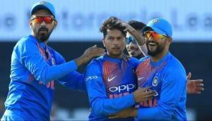 वेस्टइंडीज के खिलाफ हैट्रिक लेने वाले कुलदीप यादव एक विकेट लेते ही लगा देंगे विकटों का शतक