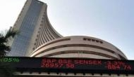 Equity indices open in the red, Sensex down by 227 points