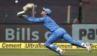 Watch how MS Dhoni shuts his crictics mouth by taking this amazing catch; video inside