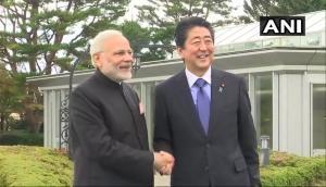 जापान: पीएम मोदी ने शिंजो आबे से की मुलाकात, दोनों देशों के रिश्ते होंगे मजबूत