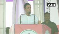 MP: Rahul Gandhi launch 'potato chips' jibe at BJP govt in Dhar; says, 'chips ke packet mein se kisan ko kitna rupaya milta hai?