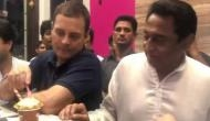 Video: राहुल गांधी ने 71 साल के कमलनाथ को कहा.. 'कमल, तुम भी आइसक्रीम खाओ'