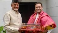 PM मोदी को बड़ा झटका, राहुल गांधी से मिलकर चंद्रबाबू नायडू महागठबंंधन में हुए शामिल