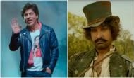 Bauua Singh of 'Zero' meets Firangi from 'Thugs of Hindostan;' Shah Rukh Khan shares picture with Aamir Khan a day before his birthday