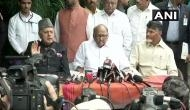 Lok Sabha election: Opposition leaders meet in Delhi 'to plan to protect the future of the nation'