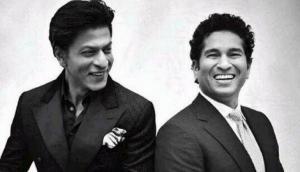 God of Cricket, Sachin Tendulkar wishes happy birthday to Badshah of Bollywood, Shah Rukh Khan in his romantic charming style