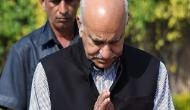 #MeToo: US based journalist alleges rape accusation against former minister MJ Akbar, says, 'Akbar ripped off my clothes, raped me'