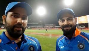 INDvsWI: Rohit Sharma needs 17 runs to surpass Virat Kohli in this T20Is record