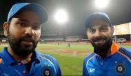indvsNZ: दूसरे टी-20 मैच में रोहित शर्मा के पास इतिहास रचने का मौका, कर सकते है कोहली के इन दो बड़े रिकार्ड्स की बराबरी