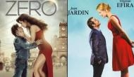 Is the poster of Zero featuring Shah Rukh Khan and Katrina Kaif inspired from this Hollywood film?