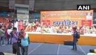 'अयोध्या में राम मंदिर से कम कुछ भी बर्दाश्त नहीं', दिल्ली में 3000 संतों की हुंकार