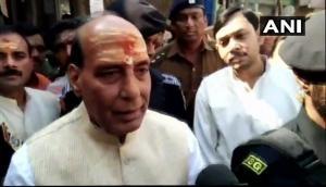 Ayodhya Ram-Mandir row: Home Minister Rajnath Singh says, 'Mandir banega to swabhavik hai sabko khushi hogi'