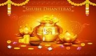 Dhanteras 2018: Dhanteras puja, shopping muhurat and method; know what to buy on Dhanteras and when?
