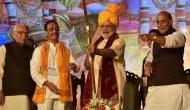 संत सम्मेलन: मंदिर निर्माण के लिए दिल्ली में जुटे संतों ने PM मोदी को बताया 'भगवान राम का अवतार'