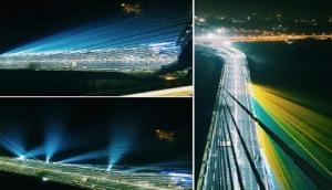 दिल्ली के सिग्नेचर ब्रिज पर सेल्फी लेना पड़ा महंगा, डिवाइडर से टकराई बाइक, दो युवकों की मौत