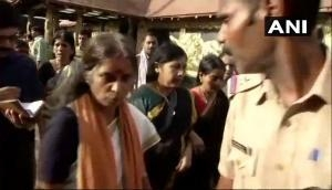Sabarimala temple row: 52-year old Lalitha, devotee from Thrissur, enters the temple under police protection