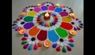 Rangoli Designs for Diwali 2018: Sanskaar rangoli to free hand rangoli designs to decorate main door this Diwali