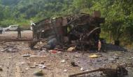 One CISF jawan, 3 civilians killed in IED blast by maoists near Bacheli in Dantewada in poll-bound Chattisgarh
