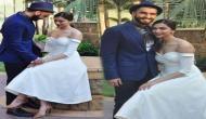 दीपिका और रणवीर अपनी शादी के लिए हुए इटली रवाना, इस खास अंदाज में अपने परिवार के साथ आए नजर